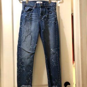Star detailed Pistola Denim Jeans size 26!